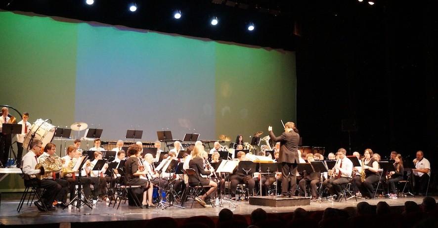 L'orchestre de l'UMB au Concert du Nouvel An 2015