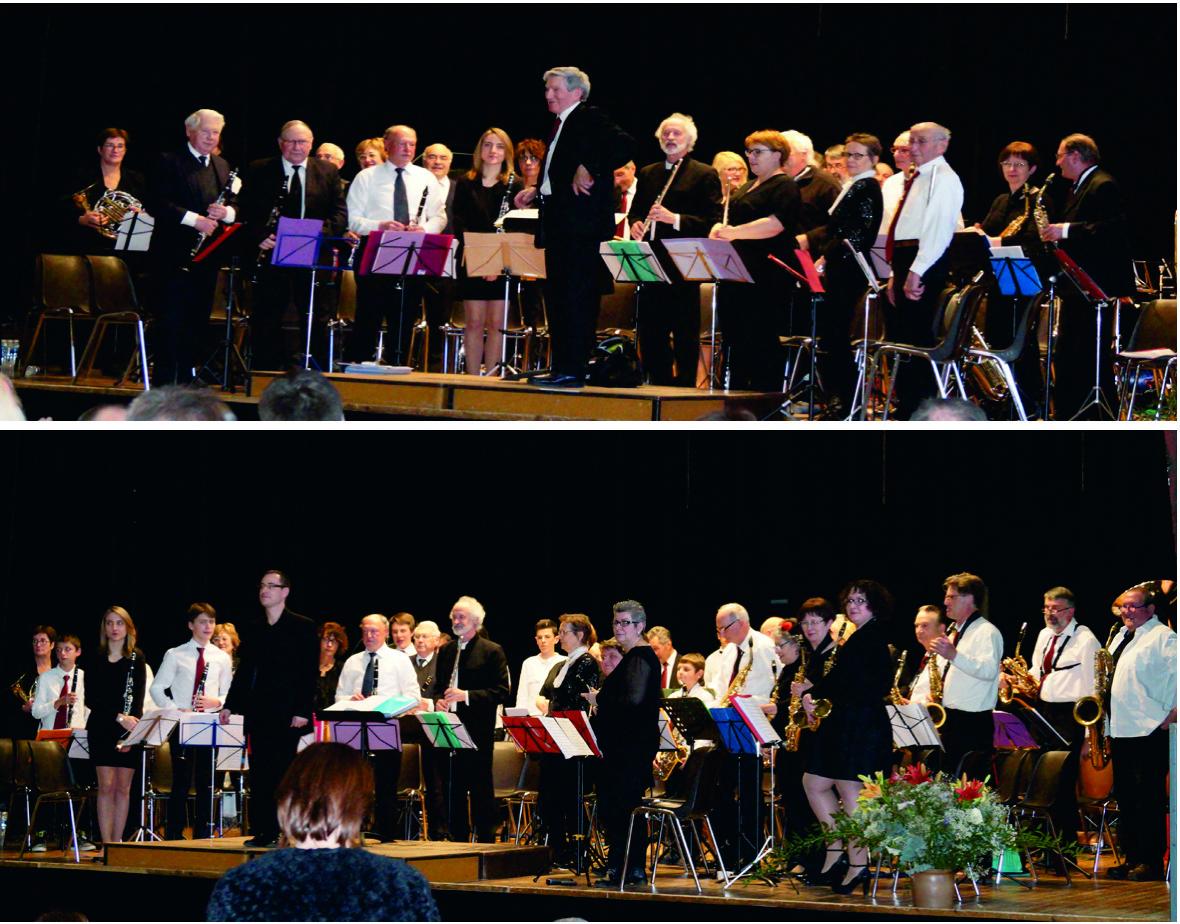 Les orchestres de Castillon la Bataille et de l'UMB